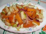 салат на завтрак