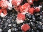 ягодный смузи из холодильника