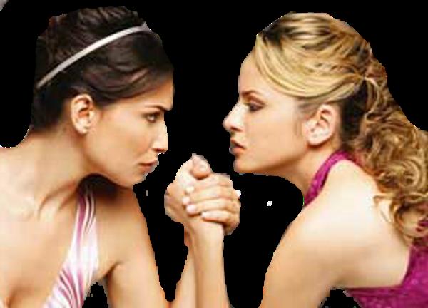 Женщины соперницы