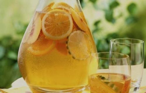 Лимонад из замороженных апельсинов