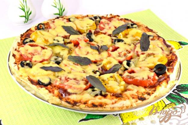 Рецепт пиццы из лаваша пошагово
