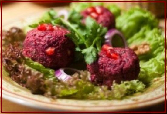 Пхали из свеклы Вкуснейшее блюдо грузинской кужни