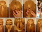 Несложные причёски для девочек
