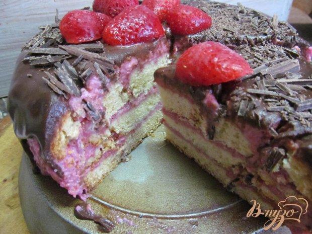 Торт с малиной рецепт пошаговый рецепт пошаговый