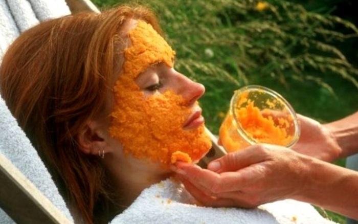 Простой рецепт морковной маски